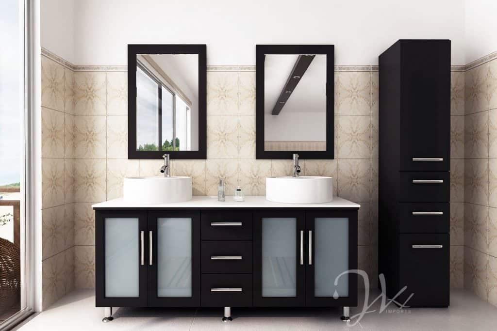 What is trending in bathroom vanities 2021
